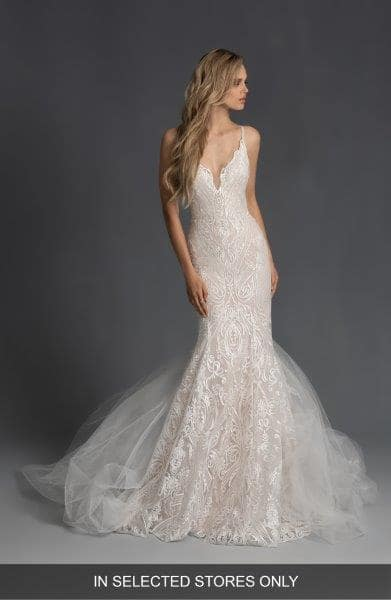 embroidered wedding gowns