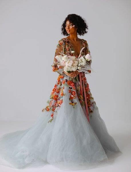 17 Embroidered Wedding Gowns That Look Gucci On Any Bride